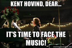 "Jo Hovind: ""It's Time to Face the Music Kent! """