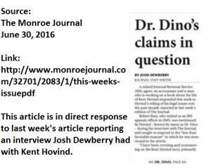The Monroe Journal Rebuttal