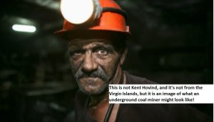 A Coal Miner Underground 07102016